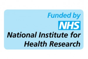 Funded by the NHS National Institute for Health Research
