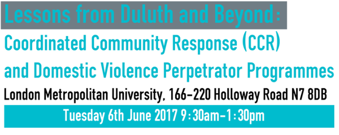 Domestic violence conference in London: Lessons from Duluth
