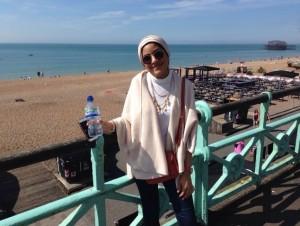 Enjoying Sunny Brighton!