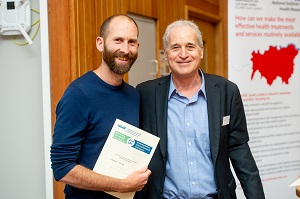 Andrew Walker and Brian Mittman at the Implementation Science Research conference 2019
