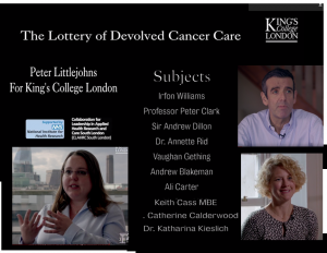 Lottery of Devolved Cancer Care
