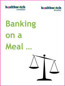 Banking on a meal