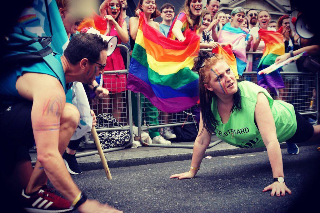 Kirsty at London Pride