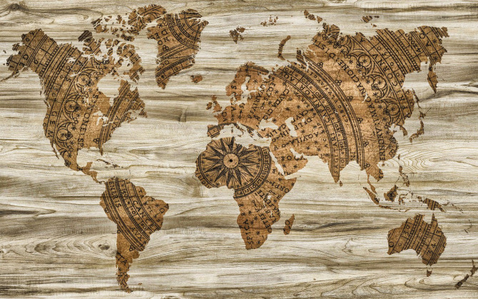Image shows a map of the world. Creative Commons via Pixabay.