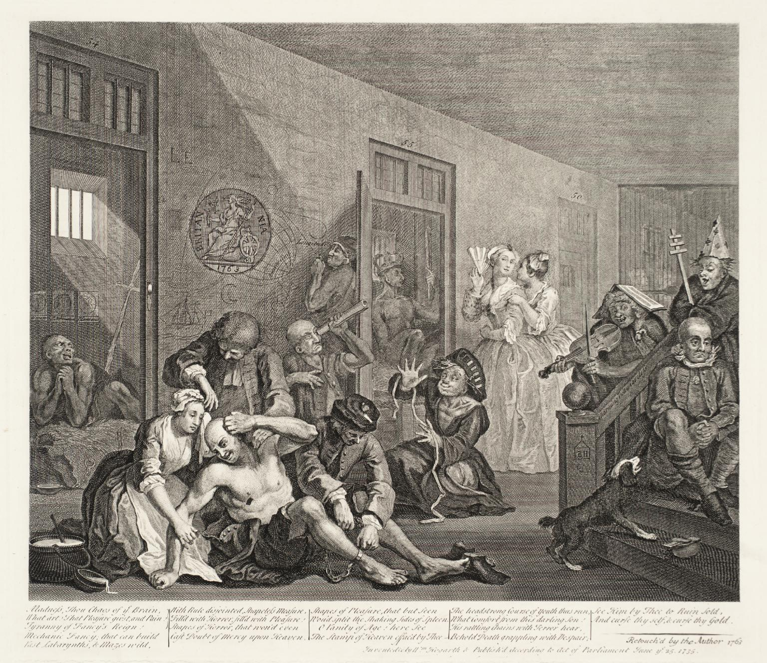 A Rake's Progress (plate 8) 1735-63 William Hogarth 1697-1764 Transferred from the reference collection 1973 http://www.tate.org.uk/art/work/T01794
