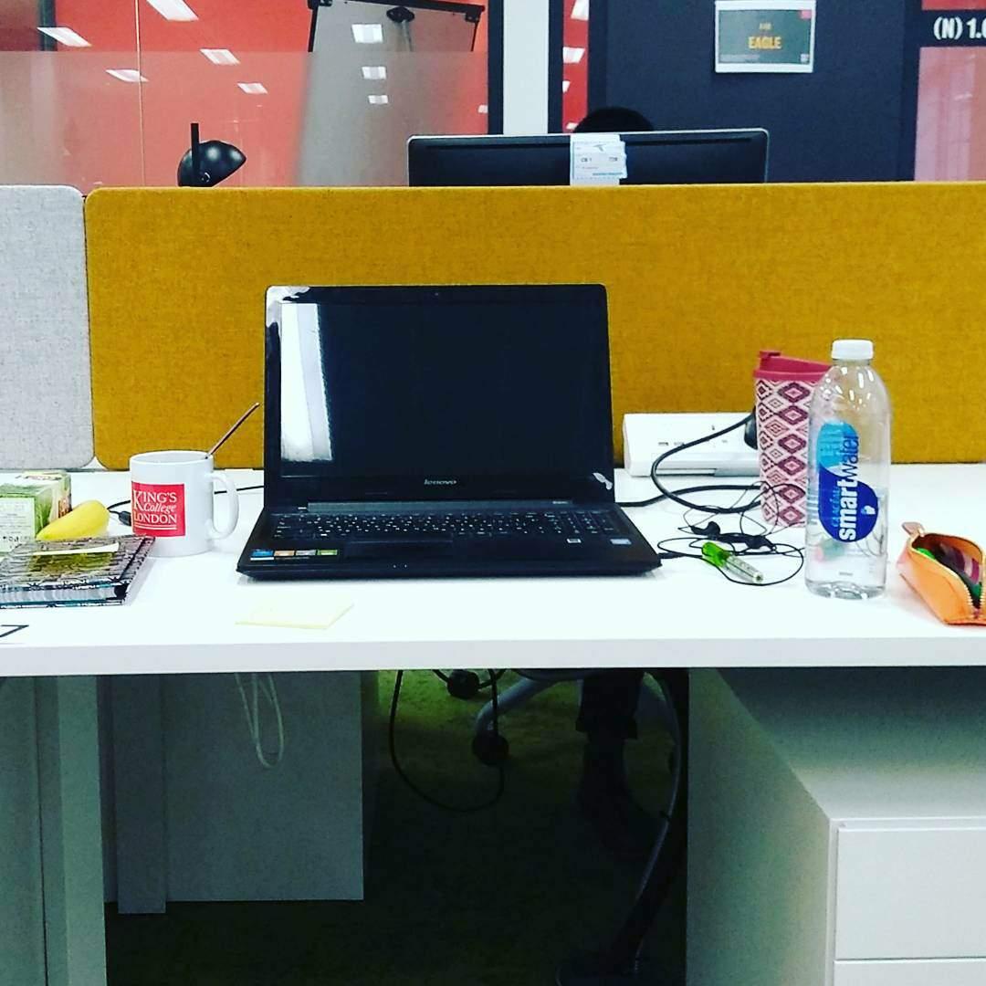 Ralitsa's desk