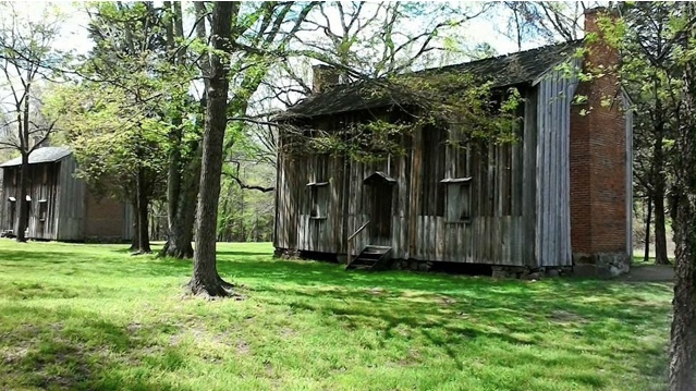 Original Stagville homes for slaves: a history of lost lives that American society continues to struggle with. Photo credit: Charlotte Taylor-Suppe, 2017.