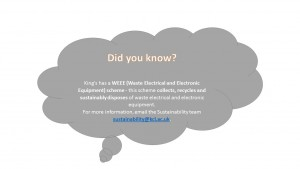 Green Impact - Did you know?