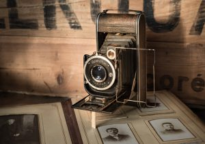 Image of old time camera