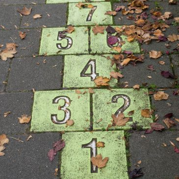 hopscotch tiles