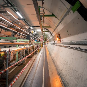 Hadron collider at CERN. Click on the image to access the article.