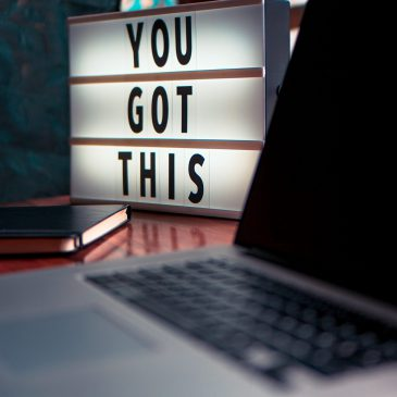 Image of sign saying 'You got this!'. Click on image to read the blog post
