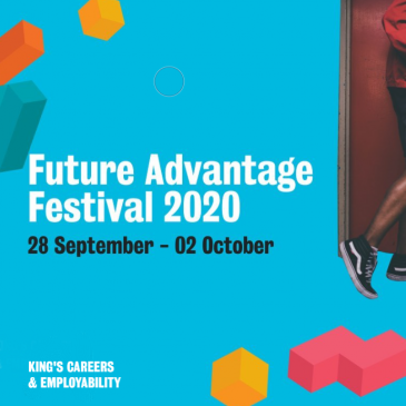 Future Advantage Festival 2020 on the week of 28 September