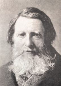 Photographic portrait of Ruskin aged 63