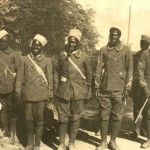 Sengalese troops, May 1916. From the papers of Major Gen Sir Edward Louis Spears.