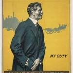 Poster by the Parliamentary War Savings Committee