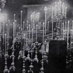 L'Album de la Guerre (Paris, 1926), p.5. The coffins of the royal couple lying in state