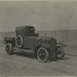 Photograph captioned 'Rolls Royce Armoured Car', from the papers of Lt Col Sir Albert Gerald Stern