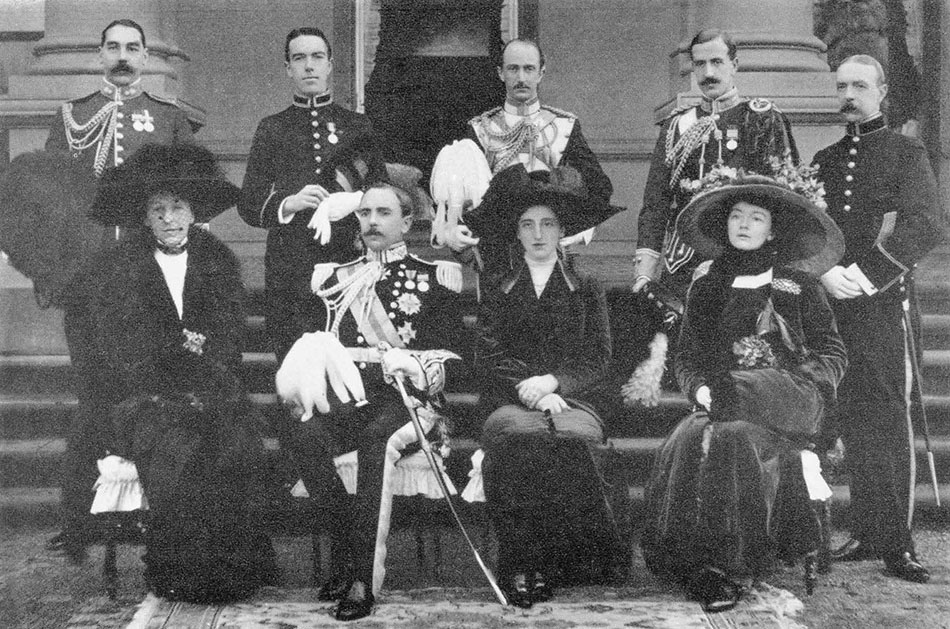 Governor General's group, 1911