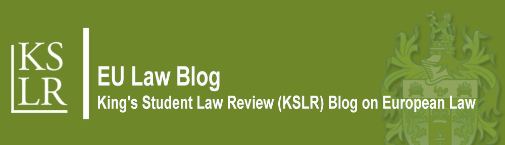 KSLR EU Law Blog
