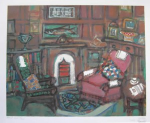 Arthur's Room (posthumous), 16 x 20, Edition of 200, 2002, £300