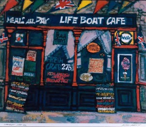 The Lifeboat Cafe, 17 x 20, Edition of 90, 1995, £500
