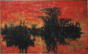 Port du Nord, Oil, c. 1959