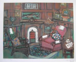 Arthur's Room (posthumous), 16 x 20, Edition of 200, 2002, £300