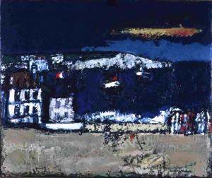 [French Beach], oil, c. 1970
