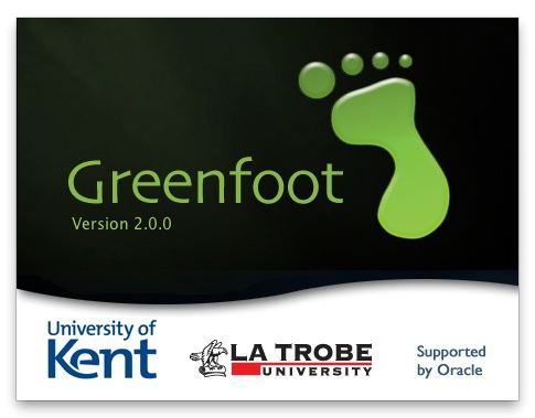 Greenfoot splash screen