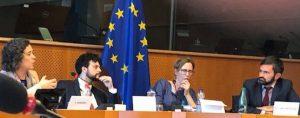 At the European Parliament 9 April 2019