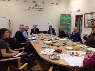 The Cumbria Registered Social Care Managers' Network at the 16 January 2015 meeting