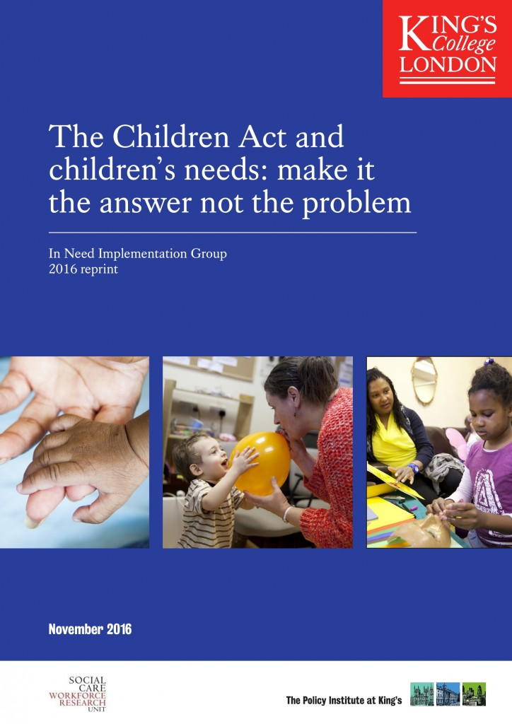 Children Act 1989 report (1991)